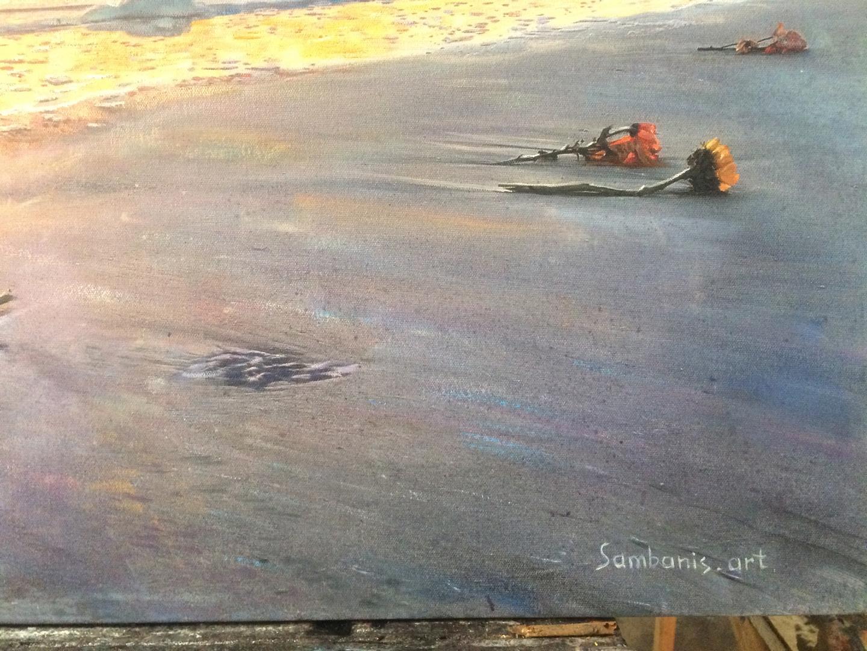 sea dawn oil Landscap img_1